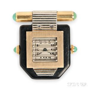 Art Deco Clip Watch Van Cleef amp Arpels