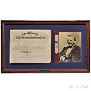 Grant Ulysses S 18221885 Document Signed 21 December 1875
