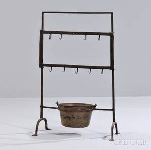 Wrought Iron Roasting Rack