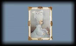 1290 Kirk 20th Century Woman with Pearls oil on can