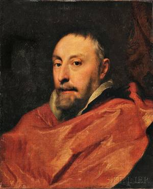 After Sir Anthony van Dyck Flemish 15991641 Antoine Triest Bishop of Ghent