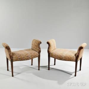 Pair of Louis XVstyle Window Seats
