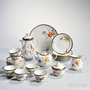 Meissen Porcelain Tea and Coffee Service