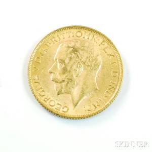 1913 British Gold Sovereign