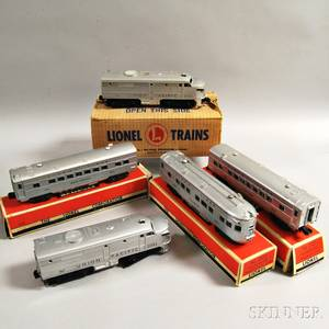 Lionel Train Union Pacific Passenger Set 1464W