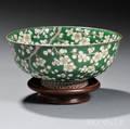 Greenenameled Bowl