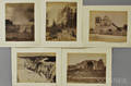 JH White American fl Late 19th Century Five Photographs of Western Views