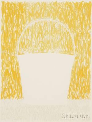 James Rosenquist American b 1933 A Pale Angel Halo