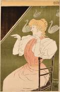 HenryJulien Detouche French 18541913 Poster Proof for the 22nd Exhibition of the Salon des Cent