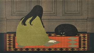Will Barnet American 19112012 Dialogue in Green