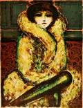 JeanPierre Cassigneul French b 1935 The Fur Wrap