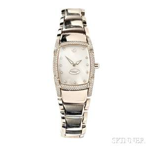 Ladys 18kt White Gold and Diamond Wristwatch Parmigiani Fleurier
