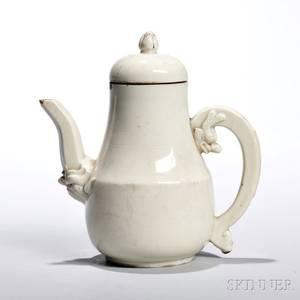 Blanc de Chine Porcelain Teapot