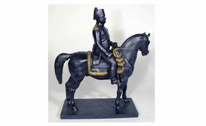 1298 Black Patina and Gilt Accented Bronze of Napoleon
