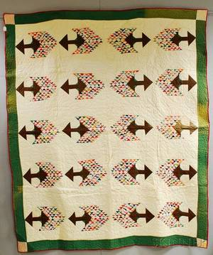 Tree of Life Patchwork Quilt