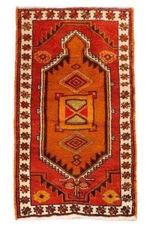 Hand Woven Anatolian Area Rug 3 x 5