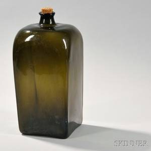 Large Early Blown Case Bottle