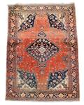 Antique Hand Woven Persian Sarouk