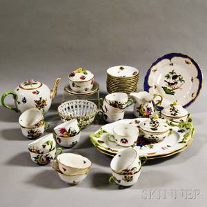 Approximately Thirtynine Pieces of Herend Porcelain
