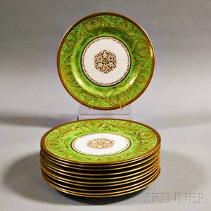 Set of Eleven Royal Doulton Dinner Plates