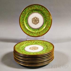 Set of Eleven Royal Doulton Dinner Plates