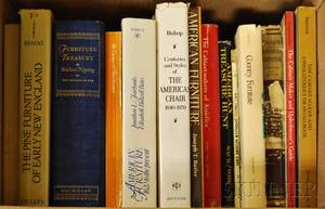 Group of Reference Books on Antique Furniture