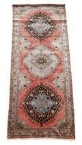 Hand Woven Turkish Oushak Area Rug 5 x 13 9