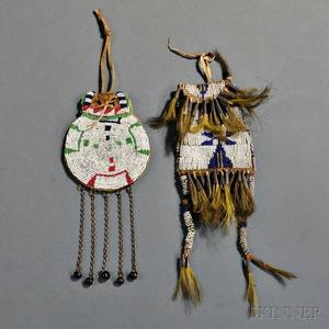 Two Plains Beaded Hide Bags