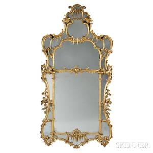 Louis XVstyle Giltwood Mirror