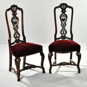 Pair of AngloPortuguesestyle Side Chairs
