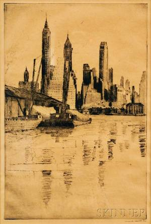 Edward Hewitt American 18771962 New York City