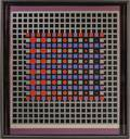 Victor Vasarely French 19061997 Untitled Silver