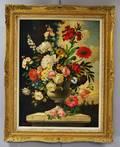 Evelio Garcia Mata Cuban 19101985 Floral Still Life