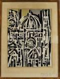 John Ross American b 1921 Duomo