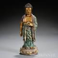 Famille Verte Standing Buddha