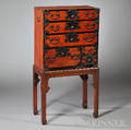 Small Tansu on Stand