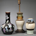 Two Vases and a Lamp
