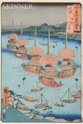 Hiroshige 17971858 Woodblock Print