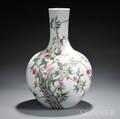 Monumental Peach Jar Vase