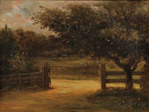 William Morris Hunt American 18241879 Beyond the Gate