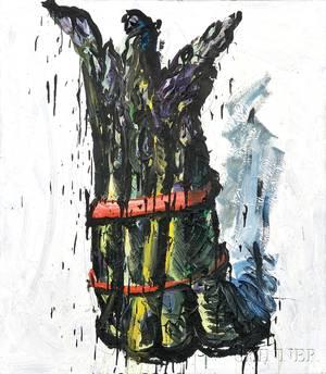 Tom Christopher American b 1952 Asparagus
