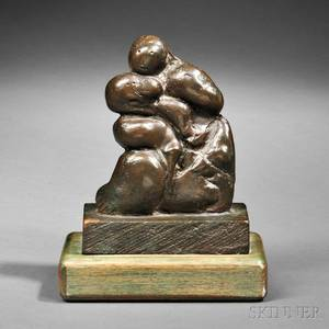Henry Moore British 18981986 Mother and Child Paleo