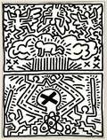 Keith Haring American 19581990 Poster for Nuclear Disarmament