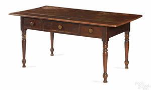Lancaster Pennsylvania painted poplar tavern table ca 1840