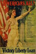 Howard Chandler Christy Americans All WWI Lithograph Poster