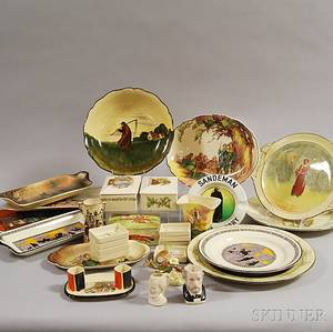 Twentynine Mostly Doulton Items