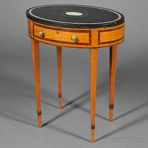 Louis XVIstyle Marbletop Occasional Table