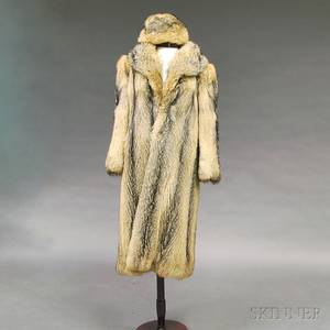 Maximilian Pieles Fulllength Fox Fur Coat