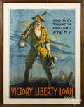 American WWI Victory Liberty Loan poster