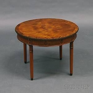 George IIIstyle Fruitwood Low Table